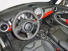 Kit Rigenera Colore Volante Mini Cooper Pelle F034 Nero Ritocco Rinfresco Cabrio