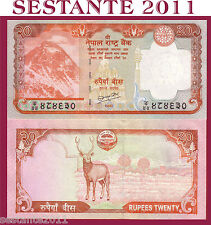 NEPAL - 20 RUPEES 2010  SIGN. 19   - P 62    - FDS / UNC