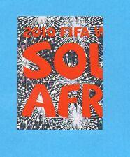 SOUTH / SUD AFRICA 2010-PANINI-Figurina n.3 -NEW BLACK BACK