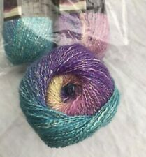 "Lion Brand® Shawl in a Ball Metallic Striping Yarn  color #308 ""Pastel Pixie"