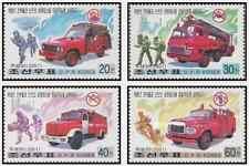 Timbres Pompiers Corée 3075/8 ** année 2001 lot 27851