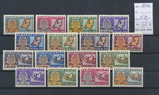 LM81061 Curacao 1946 aid stamps fine lot MH cv 32 EUR