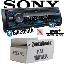 Sony Autoradio für Fiat Marea & Weekend 185 DAB+/Bluetooth/MP3/USB KFZ Einbauset