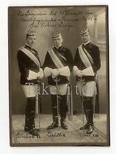 Org. Foto Wingolf   Leipzig Studentika CDV  1911  Chargierte