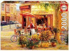 Puzzle Educa 17130 Corner Cafe, 2000 piezas, Haixia Liu, Pintura, Arte, teile