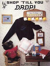 Shop 'Till You Drop Cross Stitch Book - Pegasus Originals Bk #143