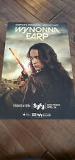 2016 SDCC WONDERCON EXCLUSIVE SYFY IDW POSTER WYNONNA EARP FIRST POSTER ISSUED
