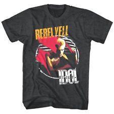 Billy Idol Rebel Yell Men's T Shirt Paint Punk Rock Album Cover Art Tour Merch