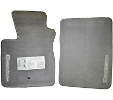 Fits 1992-2010 Ford F-150 Floor Mats OEM Factory Genuine F-Series Logo Grey Gray