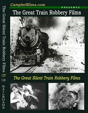 "The Great Silent ""Train Robbery"" Films 1900's K&A Railroad Tom Mix Ulster Rail"