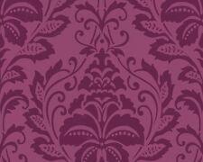 Vliestapete Barock floral magenta pink Tapete livingwalls Flock 4 2554-33 255433