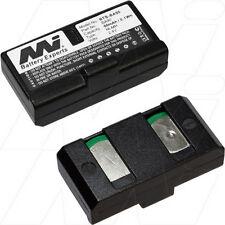 2.4V 60mAh Replacement Battery Compatible with Sennheiser BA90 E180 E90