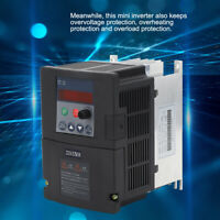 Inverter Frequency Converter Single-Phase Input 3-Phase Output 0.75 /1.5 /2.2KW