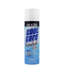 Andis Cool Care Plus Cleaner Spray For Clipper Blades Trimmer 5 In 1 Coolant