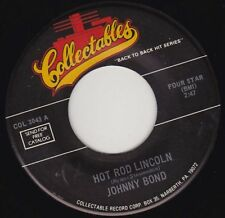 "JOHNNY BOND - Hot Rod Lincoln 7"" 45"