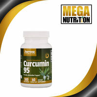 Jarrow Formulas Curcumin 95 500mg 60 Veg Caps | Turmeric Antioxidant Pain Relief