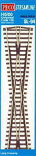PECO Two-Rail System HO Scale Model Train Tracks