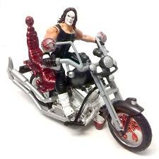 WWE WCW TNA Wrestling STING Classic Superstars Figure Motorbike vehicle RARE