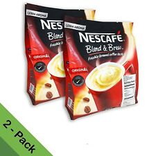NESCAFE 3 in 1 Original Blend&Brew Instant Coffee 56 sticks (2-pack) BB 11/30/20