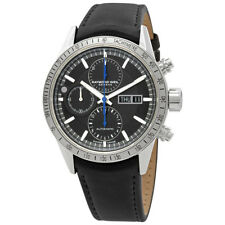 Raymond Weil Freelancer Black Dial Silver Bezel Automatic Mens Chronograph Watch