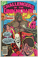 CHALLENGERS OF THE UNKNOWN#84 VF/NM 1978  DC BRONZE AGE COMICS