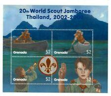 Grenada - 2002 - Boy Scouts - Sheet Of 4 - MNH