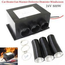 Auto Car 24V 800W Heater Fan Warmer Defroster Demister Windscreen Universal