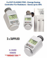 3 X Eht Clásico Pro-Controlador de ahorro de energía para radiadores-ahorra hasta un 30% en