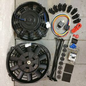 1979 - 1981 Chevrolet Metric ONLY 8 DUAL FANS Air Cooling Deluxe slim 12v