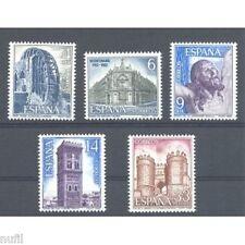 Spain  Edifil # 2676/2680 ** MNH Paisajes y Monumentos
