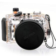 40m Custodia Subacquea Immersione Subacquea caso fotocamera per Canon PowerShot S95 come WP-DC38