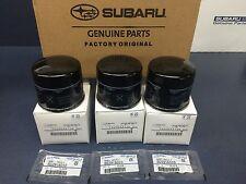 OEM Subaru Engine Oil Filter & Crush Gasket 2013-17 BRZ & FRS 15208AA130 (3 PACK
