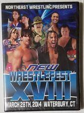 Northeast Wrestling NEW Wrestlefest XVIII 2014 DVD AJ Styles vs Matt Hardy WWE