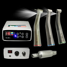 Dental Electric Micro Motor + 1:1/1:5/16:1 Firber Optic Handpiece Contra Angle