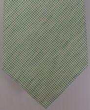 "Kiton Napoli Mens 7 Fold Handmade Linen Tie NEW 59"" X 3.5"" SKU B32/99 $290"