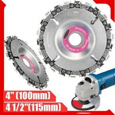 22 Tooth Grinder Chain Disc Wood Carving Disc Cut for 100/115mm Angle Grinder
