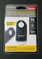 Targus Wireless Shutter Release Remote for Canon DSLR Cameras - Black (TG-CA250)
