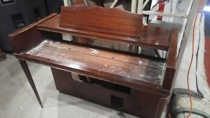 Empty Wooden Organ Cabinet Stage Shell for Nord or other Keyboard Synth