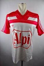 adidas Vintage 90er Trikot Shirt Gr. M ALPI oldschool 80er rot weiß Österreich