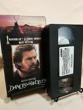 Dances with Wolves (VHS, 1990) Kevin Costner, Mary McDonnell