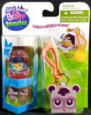 Littlest Pet Shop Teensies Backyard 2 Pets T105 T106 Bubble Keychain House NEW