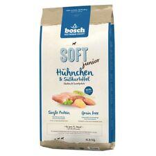 12,5kg BOSCH SOFT Junior Hühnchen & Süsskartoffel getreidefrei Hundefutter