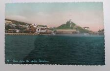 Vintage post card Postcard - View from Aden Harbour, Yemen,  Middle East 1950's
