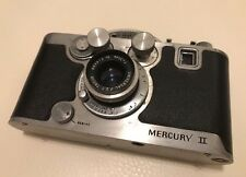 Vtg MERCURY II CX 35mm 1/2 Frame CAMERA TRICOR Lens Bonus Mounting Jiffy Masks!