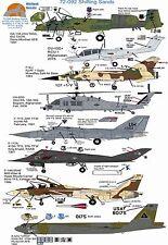 Wolfpak Decals 72-092 Shifting Sand Mirage OA-10 OV-10 HH-60G f-111E F-117A F-14