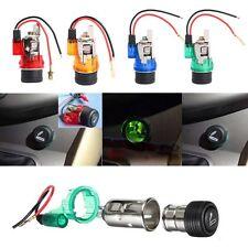 12V Waterproof Car Motorcycle Cigarette Lighter Power Socket Plug Outlet