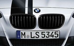 Genuine BMW Black M Performance Black Grilles 2 Series F22 PN51712336816/815 UK