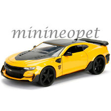 JADA 98399 TRANSFORMERS LAST KNIGHT 2016 CHEVROLET CAMARO 1/24 BUMBLE BEE YELLOW