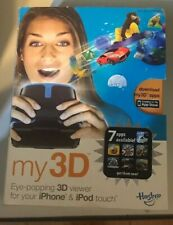 Hasbro - My3D - Eye-Popping iPhone & iPod touch Viewer - Black/Blue