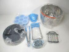 Instant Pot Accessories Set Fits 6 qt 8 Quart Cooker W/Steamer Basket - 12 Pcs